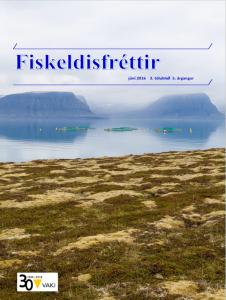 Fiskeldisfréttir Forsiða 03.05.2016